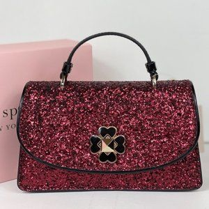 NWT Kate Spade Odette Glitter Mini Top Crossbody
